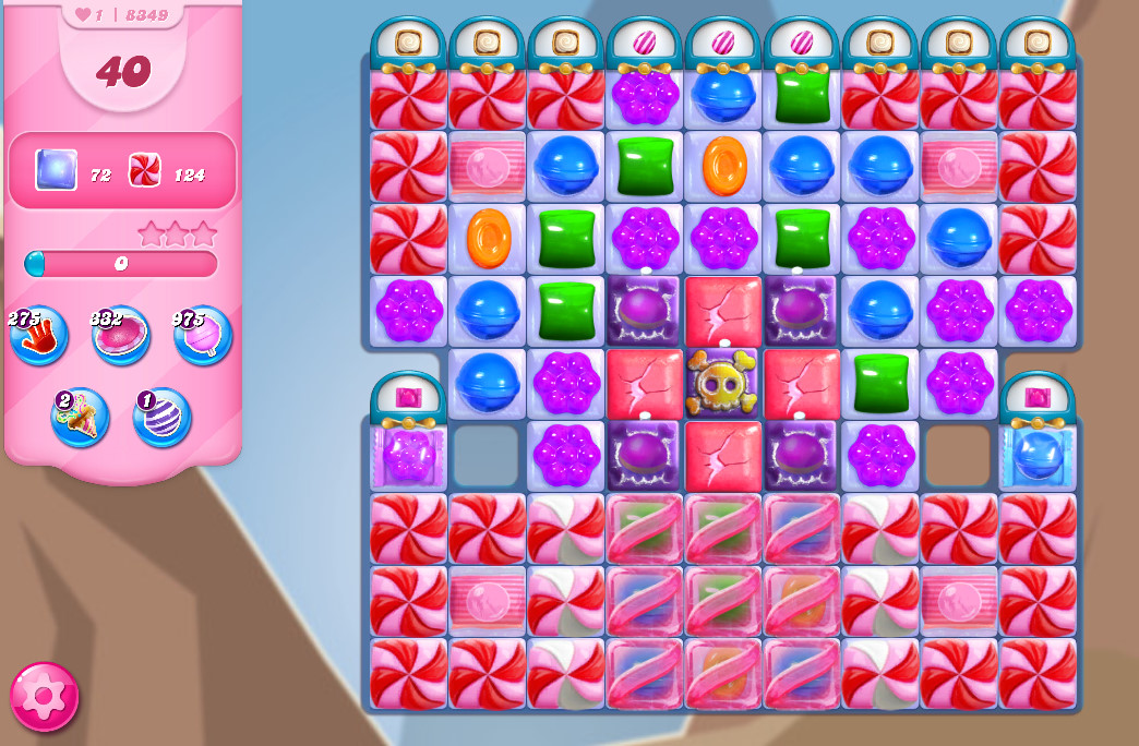 Candy Crush Saga level 8349