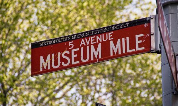 Museus na Museum Mile em Nova York