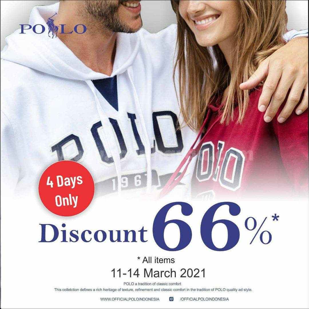 Promo Polo Ralph Lauren Discount 66% Off All Item
