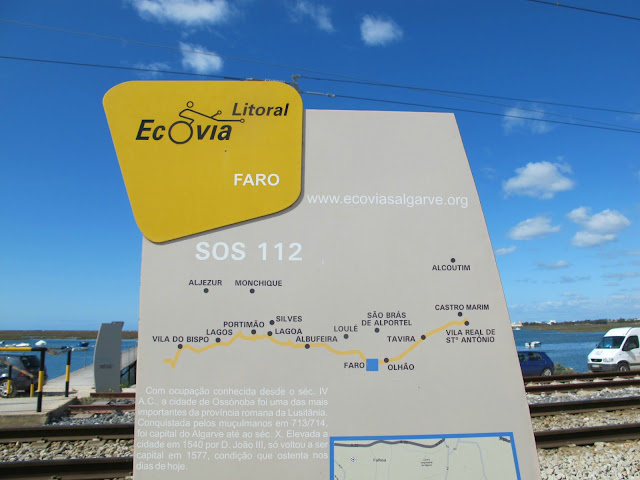 Litoral Ecovia Cycle Route Faro