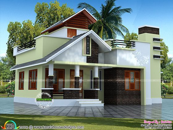 Low cost single floor home 1050 sq-ft