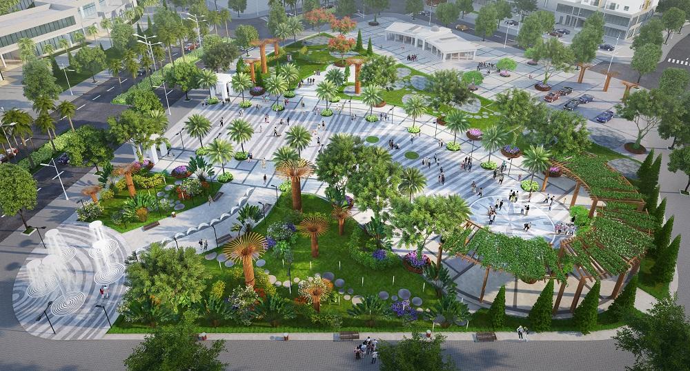 Quần thể công viên chủ đề trong Khu Đô Thị Him Lam Green Park