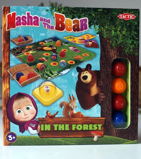 Masza i Niedźwiedź leśna przygoda- gra dla najmłodszych