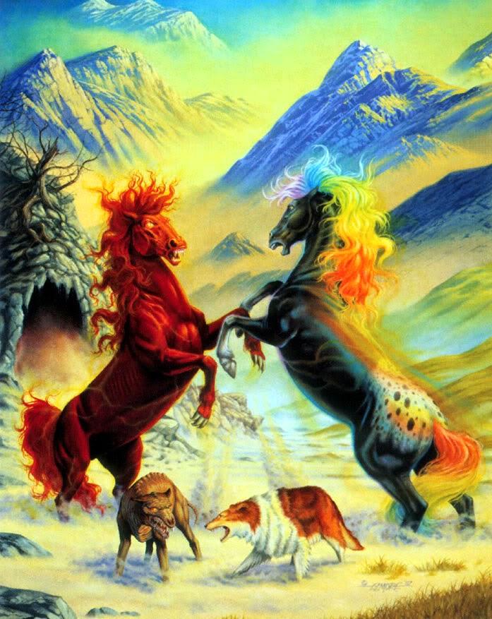 Resultado de imagen de pesadilla caballo