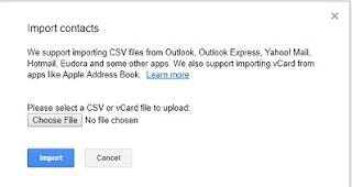 Cara Export Kontak Outlook