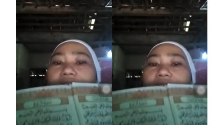 Viral! Wanita Hina Al-Qur'an hingga Bakar Bendera Merah Putih