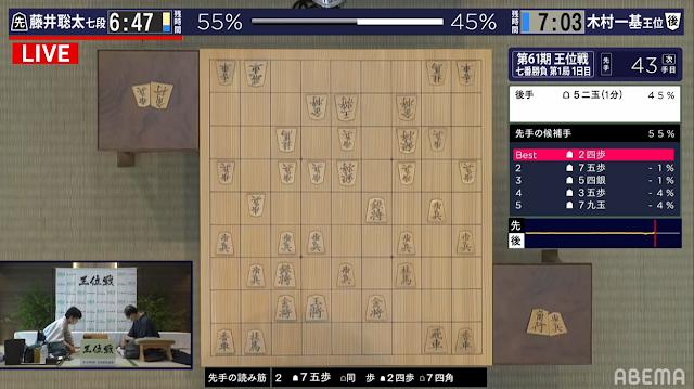 将棋AI、第2候補手まで読み筋を示す