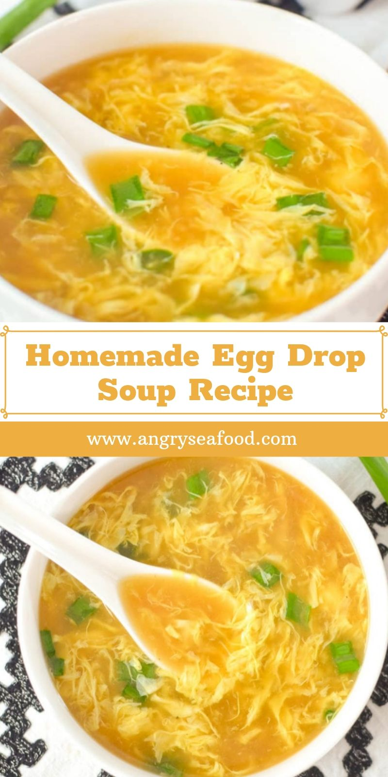 Homemade Egg Drop Soup Recipe