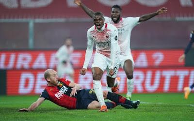 ملخص واهداف مباراة ميلان وجنوى (2-2) الدوري الايطالي