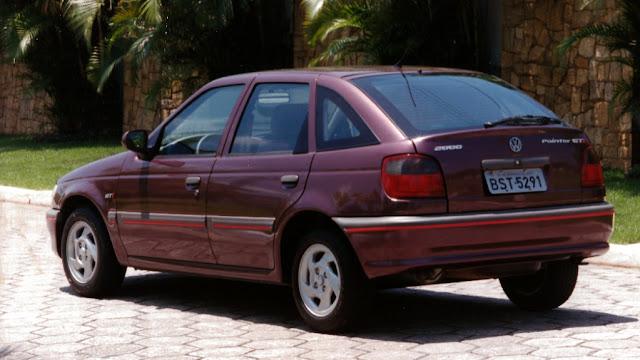 VW Pointer GTI: esportivo dos anos 90 com plataforma Ford