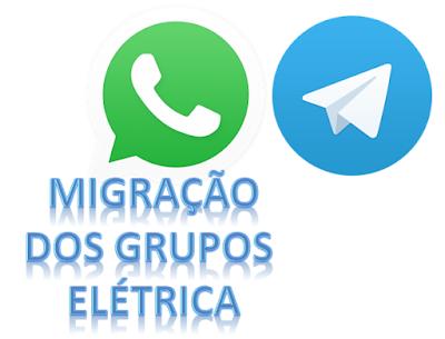 Migração dos Grupos de Elétrica para o TELEGRAM