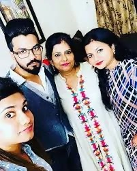 Rocky Jaiswal with Family