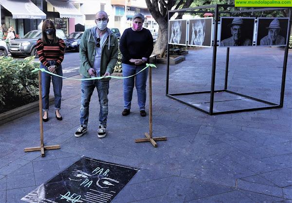 """El Ayuntamiento de Los Llanos de Aridane inaugura la muestra fotográfica """"Parpadeo"""", un homenaje a las personas mayores"""