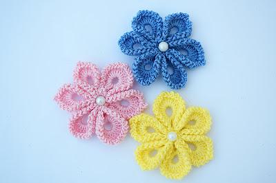 1 - Imagen Crochet Flor a crochet muy fácil y sencilla por Majovel Crochet