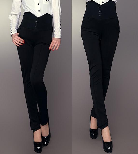 high waisted women pants