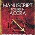 Manuscript found in Accra full book pdf download
