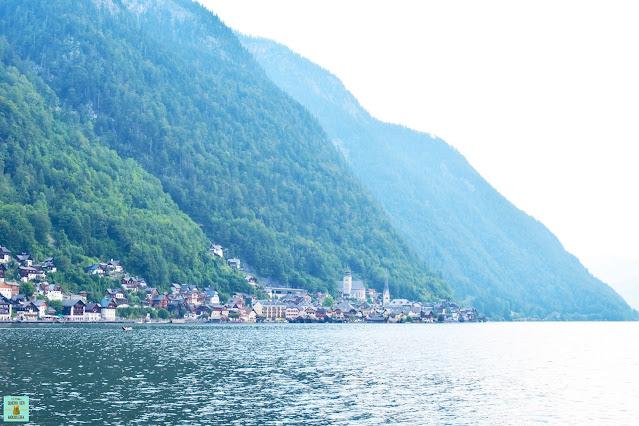 Lago Hallstätter See en Austria
