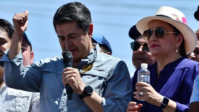 EEUU: presidente hondureño se vinculó con narcotraficante