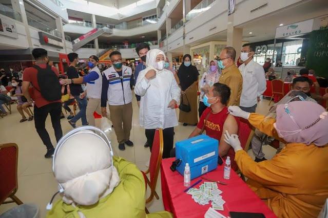 Wakil Marlin Tinjau Vaksinasi Covid-19 Dosis Kedua Bagi Pelaku Pariwisata, Budaya dan Ekraf