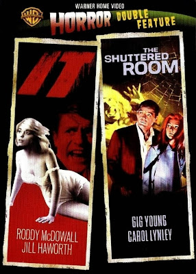 Warner Home Video Horror Double Feature It! The Shuttered Room Cover