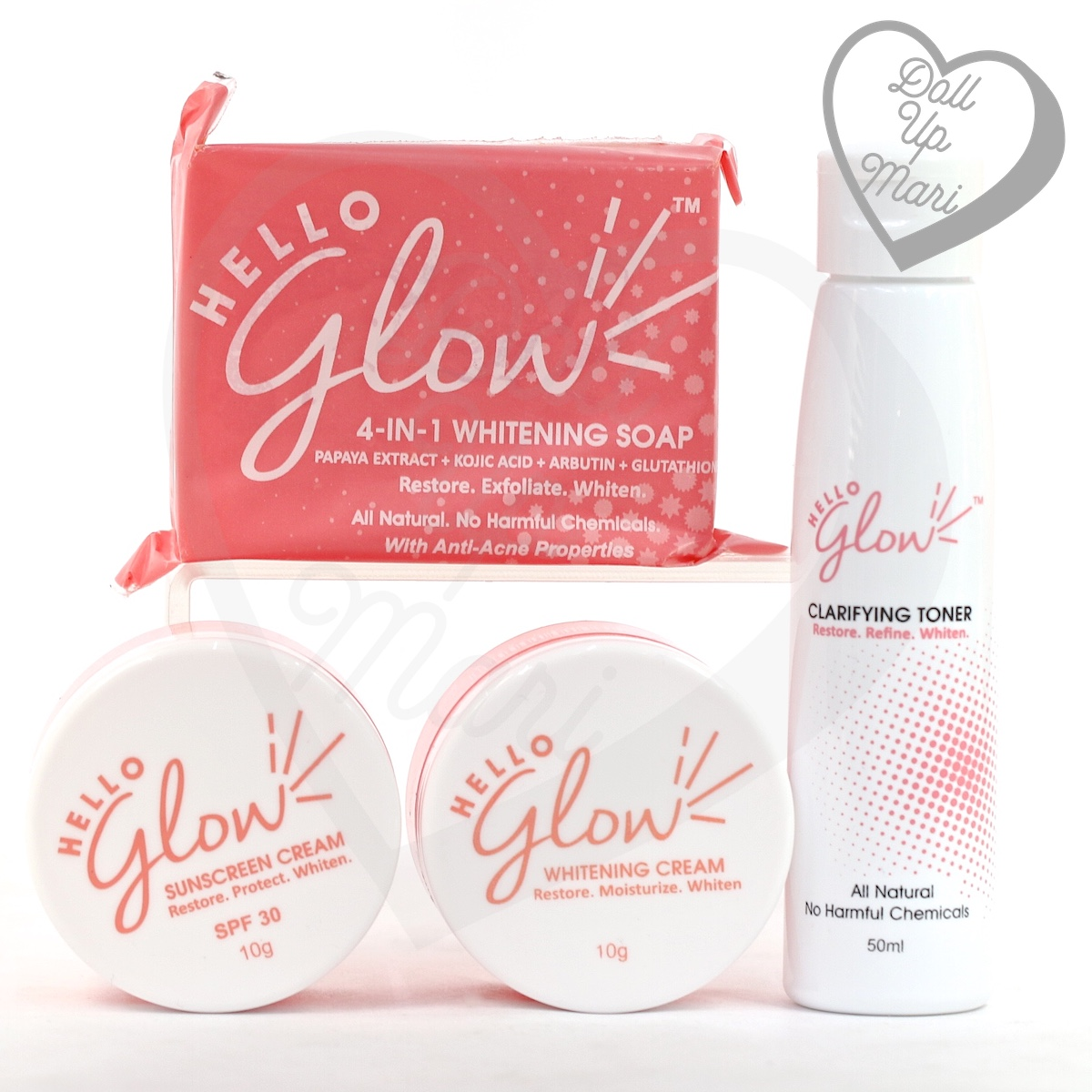 Hello Glow by Ever Bilena product spread