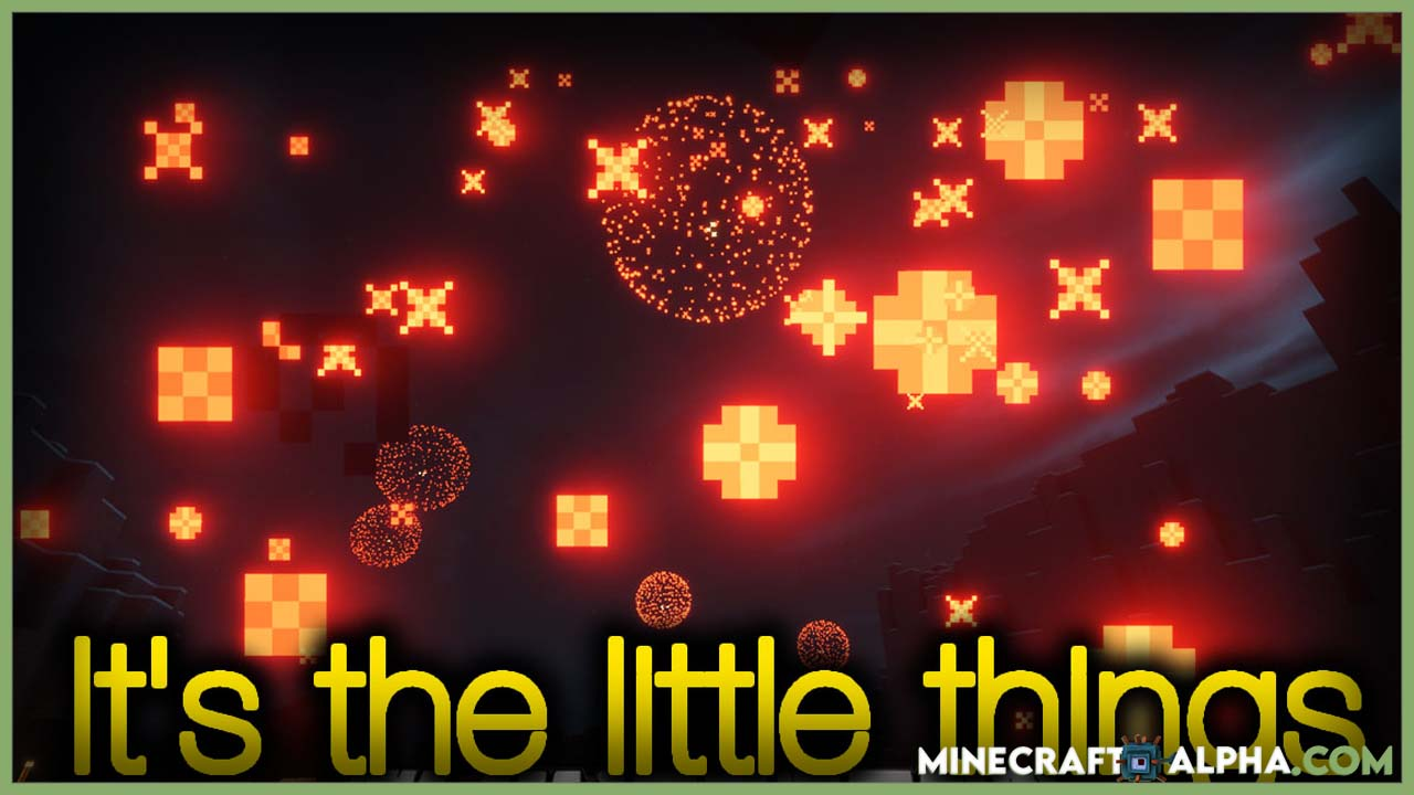 Minecraft It's the Little Things Mod 1.17.1 (Some Small Features)