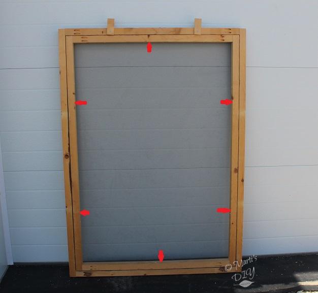 Building My Own Garage Door: Marti's DIY: Build Your Own Garage Door Screens For Less