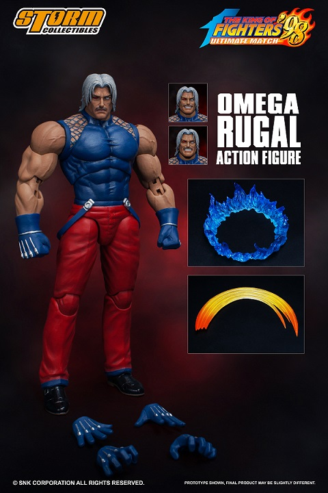 """4fd2c38a3 Omega Rugal """"King of Fighters '98 Ultimate Match"""" 1/12 Scale Action Figure ·"""