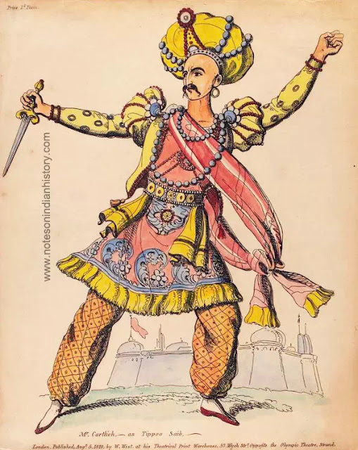 cartlich as tipu sultan