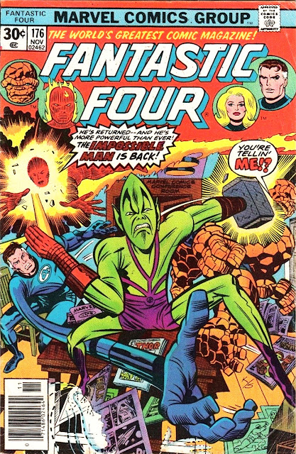 Fantastic Four #176 - FF Review 13 of 99