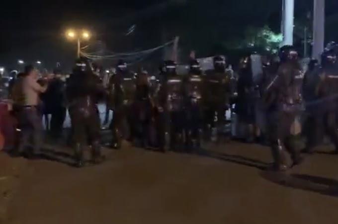 ¡Confirmado! Primera Línea que estuvo en Llano Lindo, se infiltró y provocó los disturbios en Playa Rica