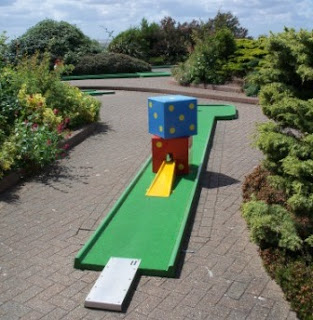 Crazy Golf at the Victorian Pavilion in Hunstanton