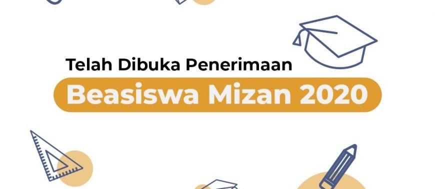 Beasiswa Mizan Bantuan skripsi, Tesis atau Disertasi Untuk Mahasiswa S1 S2 S3 Tahun 2020