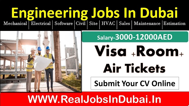 Engineering Jobs In Dubai, Abu Dhabi, Sharjah & Ajman- UAE 2020