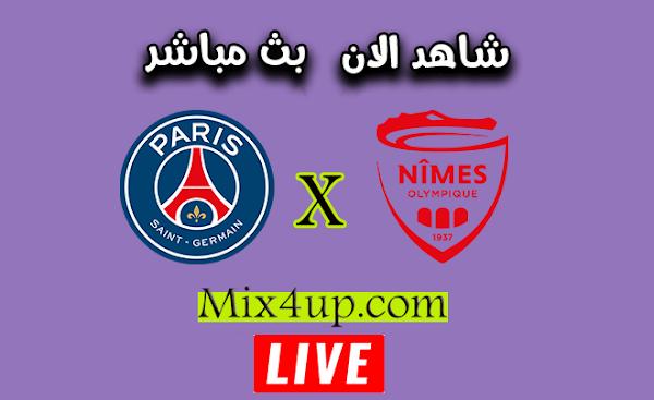 نتيجة مباراة باريس سان جيرمان ونيم أولمبيك بتاريخ 16-10-2020 في الدوري الفرنسي