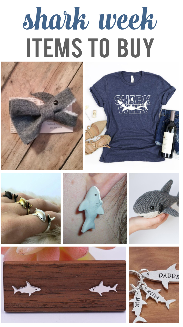 shark week things to buy