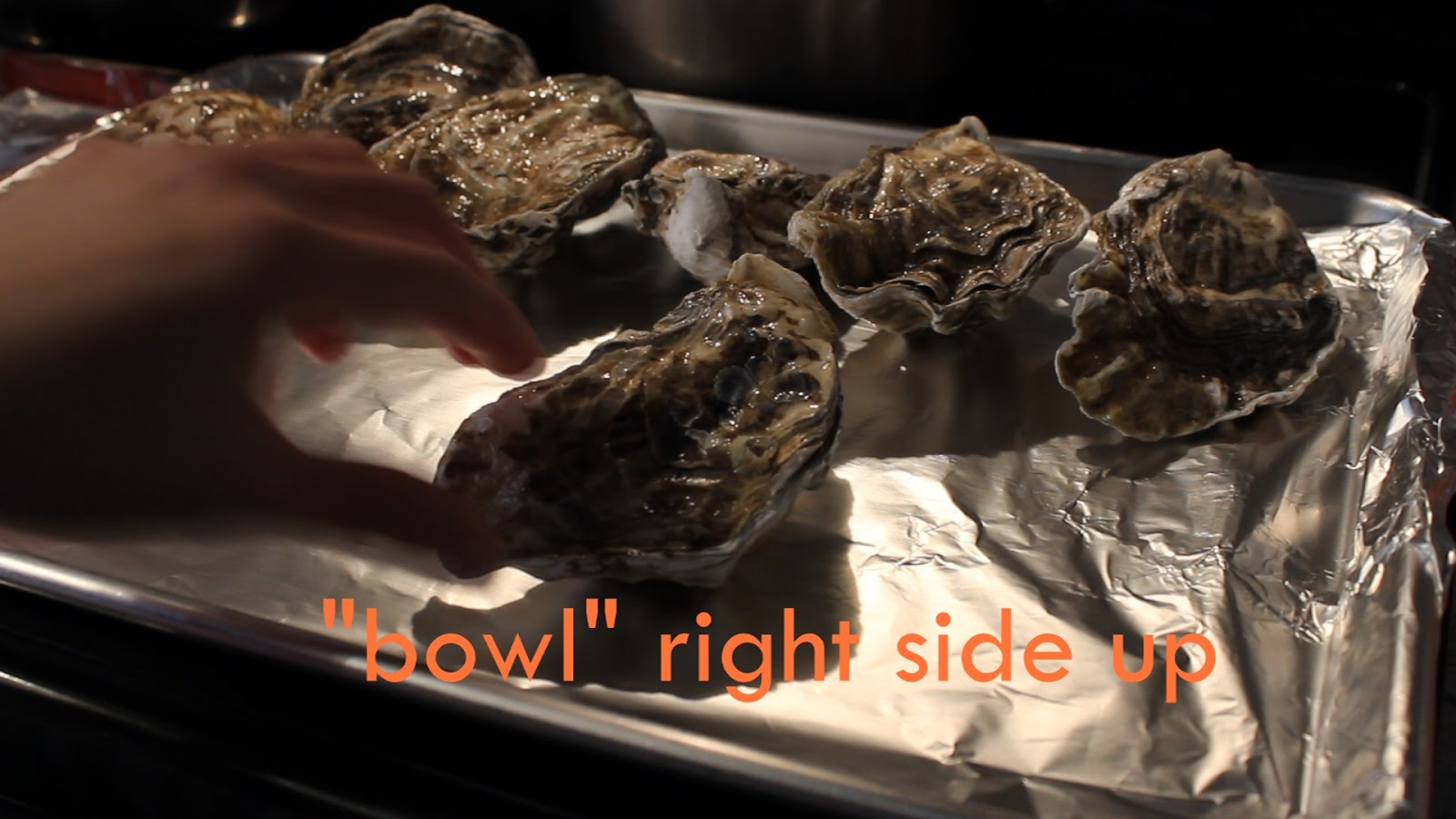 how to cook whole oysters in the oven