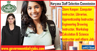 HSSC Jobs 2019 for 773 Computer Instructor, Store Keeper, Librarian Posts