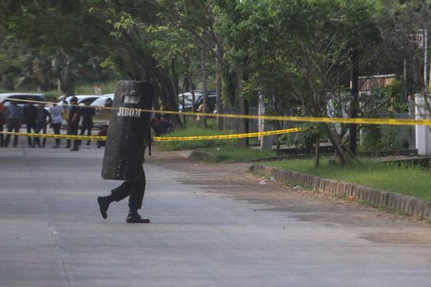 Benda Diduga Bom Teror Gereja di Semarang