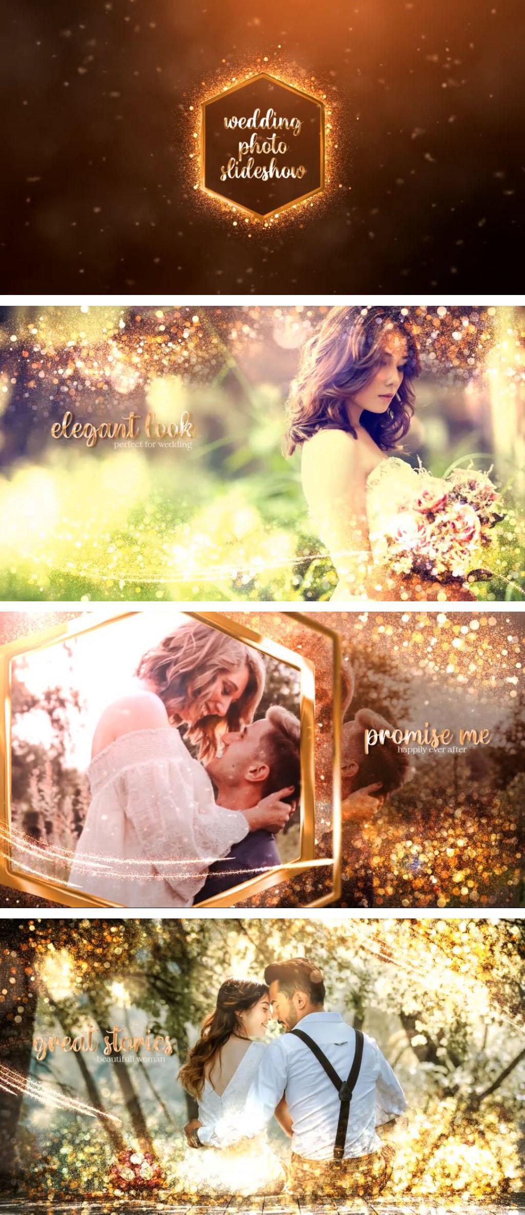 Gold Wedding Slideshow