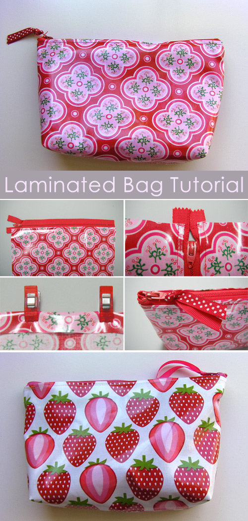 "Laminated ""Just In Case"" Bag Tutorial"