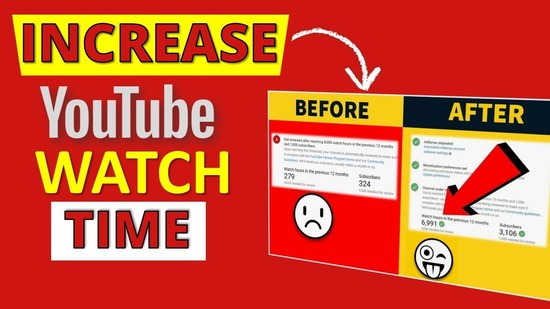 Get More YouTube Watch Time Hours