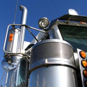 Truck preparing for ifta audit reporting