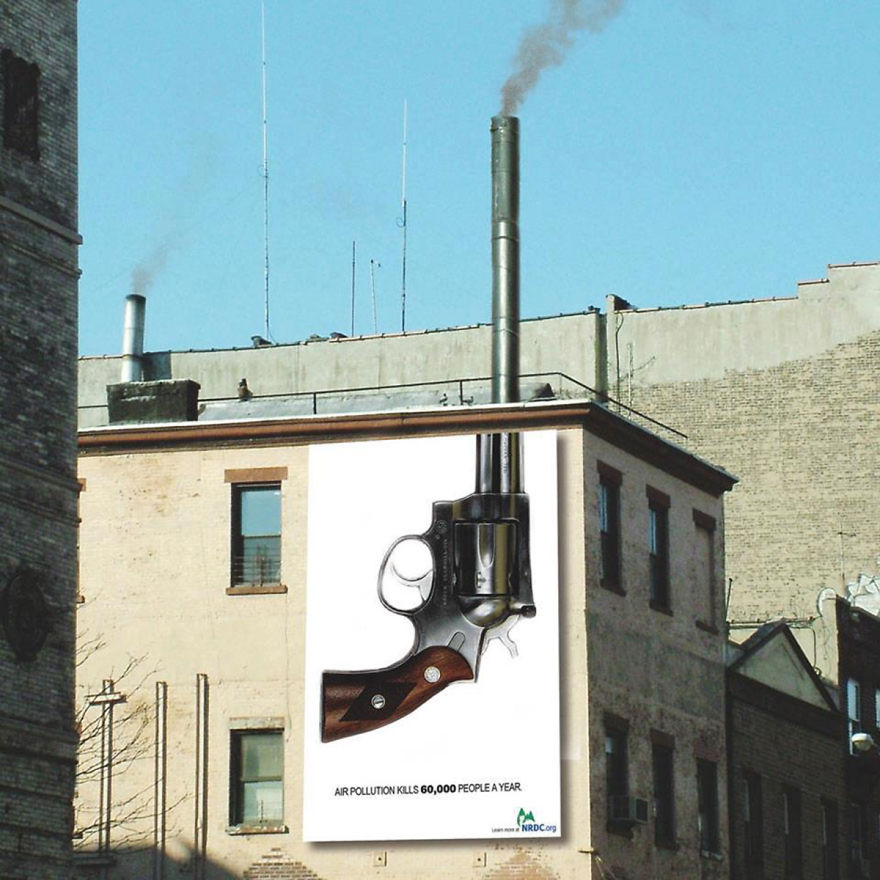 These 30+ Street Art Images Testify Uncomfortable Truths - The Impact Of Air Pollution