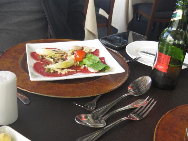 Carpaccio restaurante giratório santiago chile