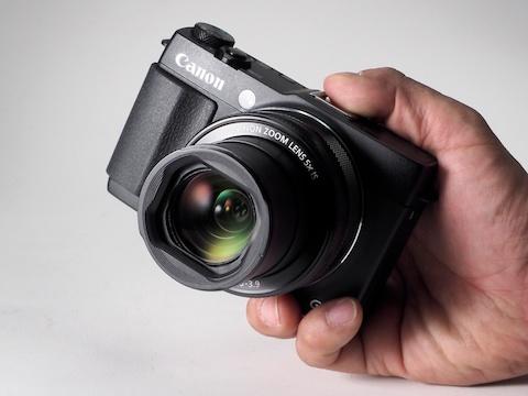 CanonデジタルカメラPowerShot G1 X Mark IIファームウェアのダウンロード