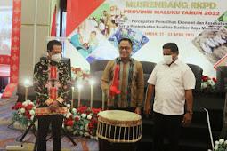 Murad Ismail Harap Musrenbang RKPD Maluku Selaras dengan Pembangunan Nasional