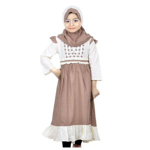 21 Model Baju Muslim Anak Perempuan Terbaru 2019 Modis Simple dan Syar i f0d871ca78