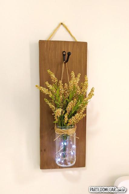 Ideias de decoração com madeira