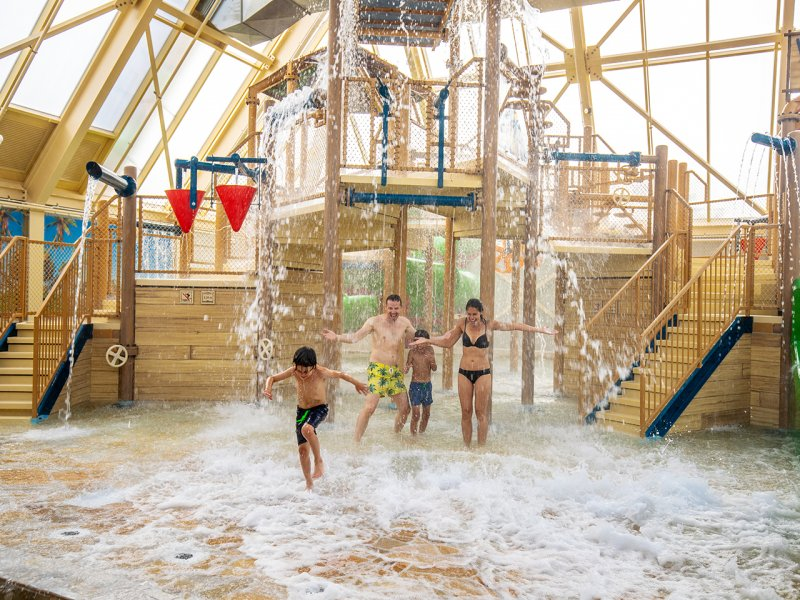 Choosing the Best Center Parcs Holiday in the Netherlands  = Port Zelande Water Park